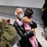 Tearful grandparents reunited with grandkids after 18 months